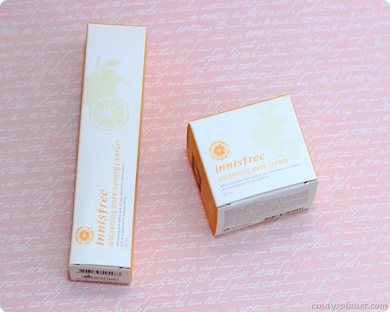 innis free whitening pore cream1