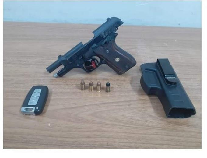 Barbeiro de 21 anos é preso após disparos com arma de fogo em rua de Araçatuba