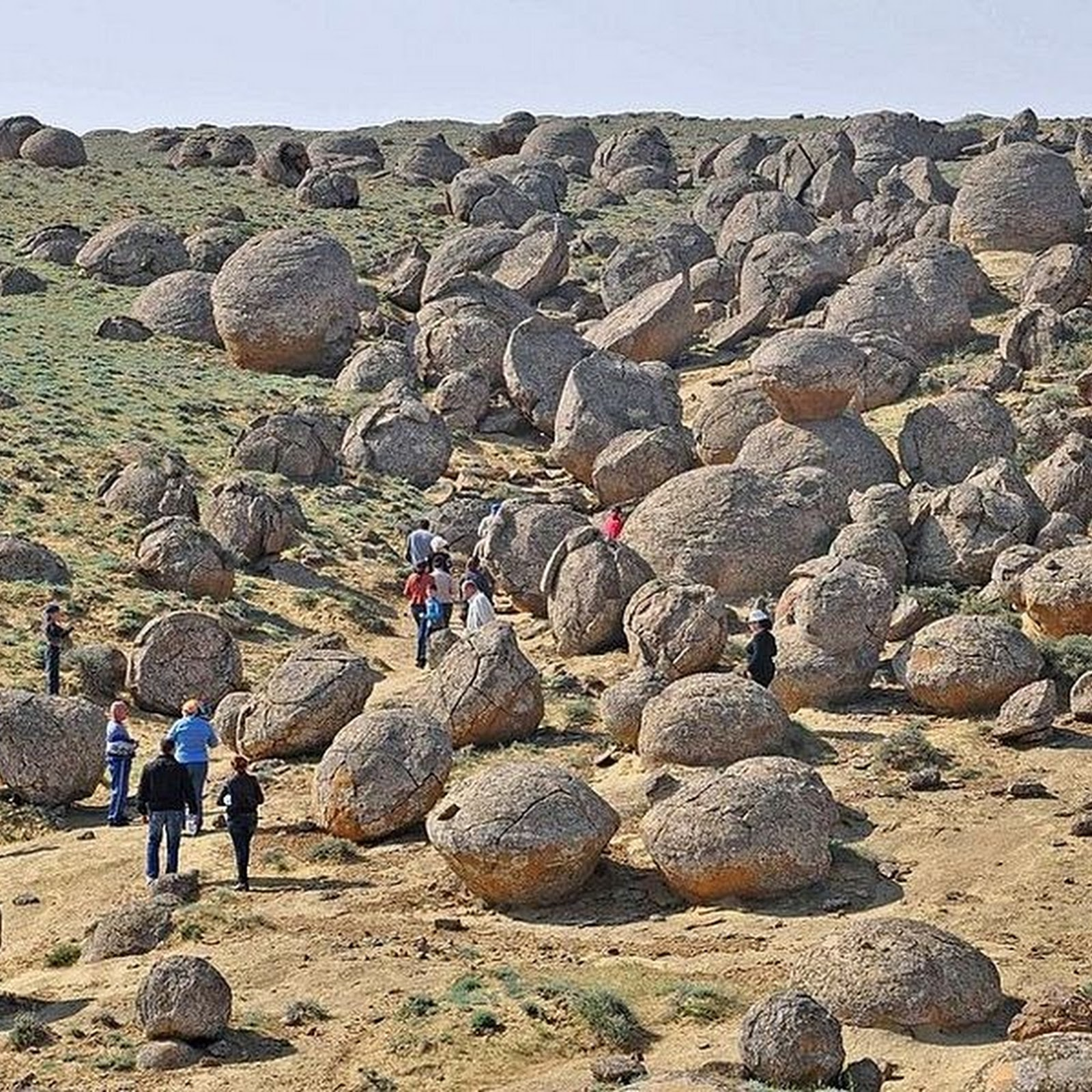 The Valley of Balls, Kazakhstan