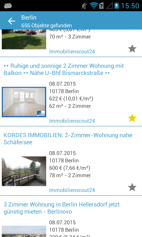 Immoworld Immobiliensuche- screenshot