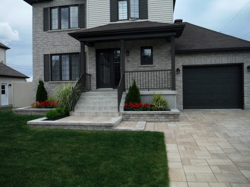 Pro paysage fa ade de maison for Garage exterieur design