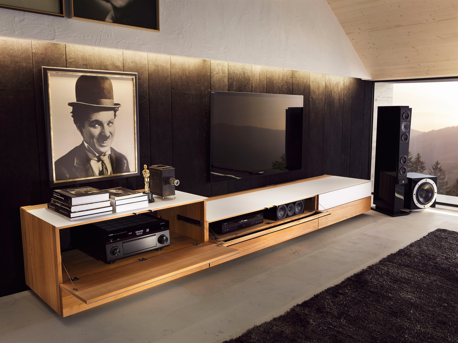 cubus tv wandkasten noordkaap meubelen. Black Bedroom Furniture Sets. Home Design Ideas