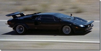 Lamborghini Countach LP 400S Le Cannonball