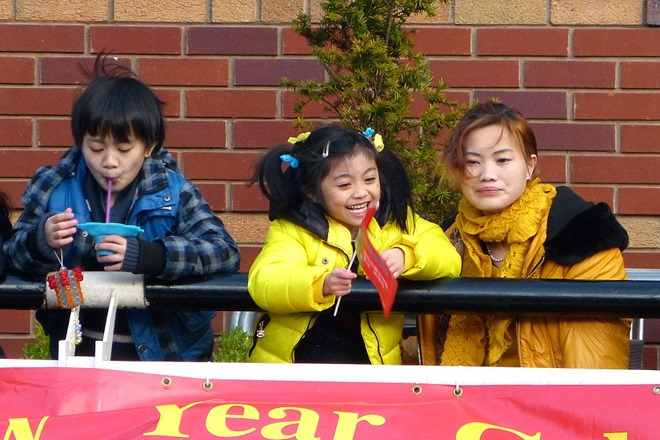 Китайский Новый Год в центре Бирмингема