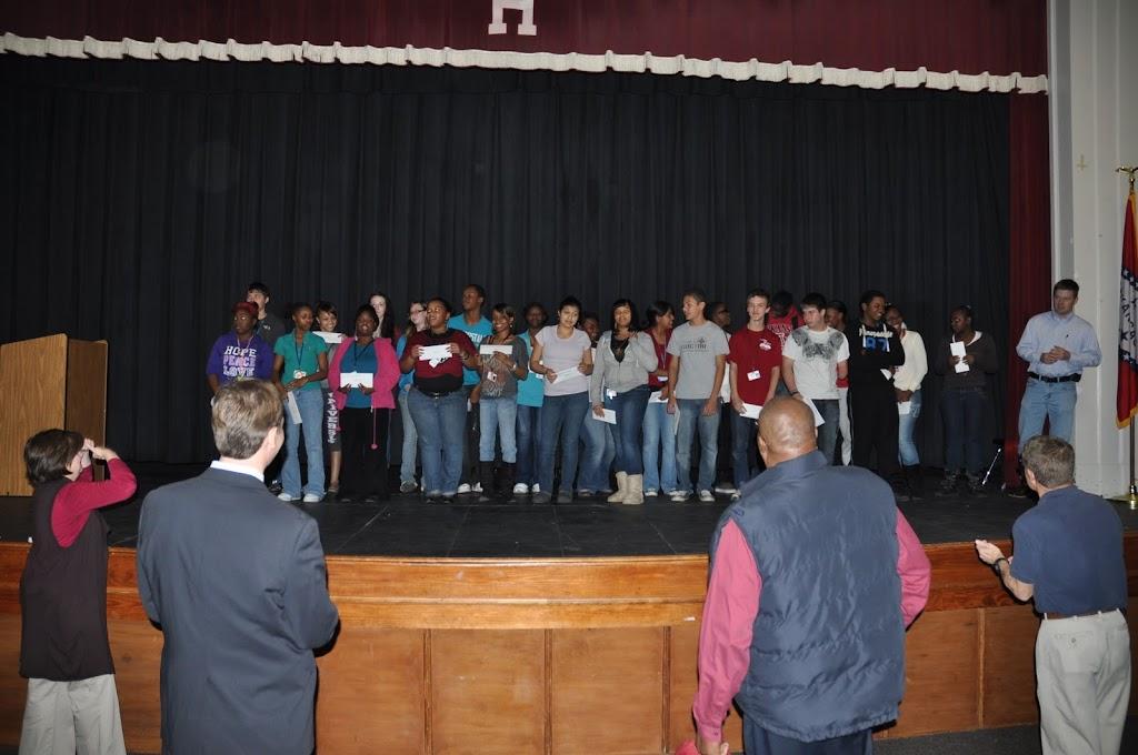 Southwest Arkansas Preparatory Academy Award Letters Hope High School Spring 2012 - DSC_0077.JPG