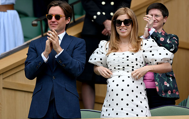 Princess Beatrice Takes Part in Fun Children's Activity Ahead of Birth of First Child