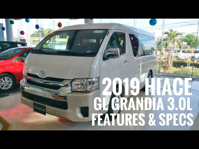 VIDEO: 2019 #ToyotaHIACE GL Grandia 3.0L #DieselENGINE | #WhitePEARL