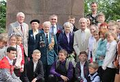 Николаевское областное отделение НОК и мэр Александр Сенкевич поздравили ветеранов войны и спорта