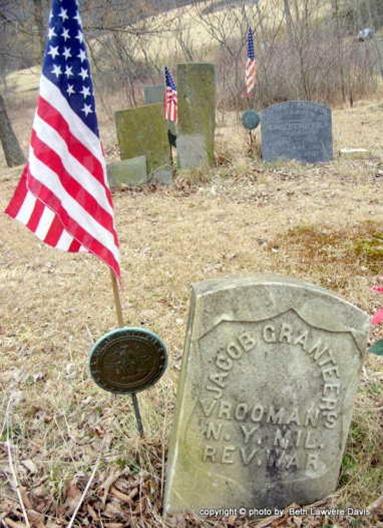 Granteer Jacob tombstone