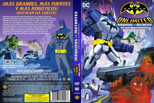 Batman Unlimited: Mech vs. Mutants – Latino, Inglés