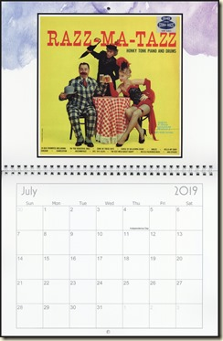 Eva Lynd 2019 calendar - July Eva