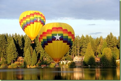 Cottage Lake balloons