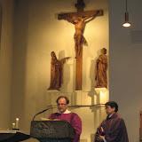 Besuch des Erzbischofs Okada