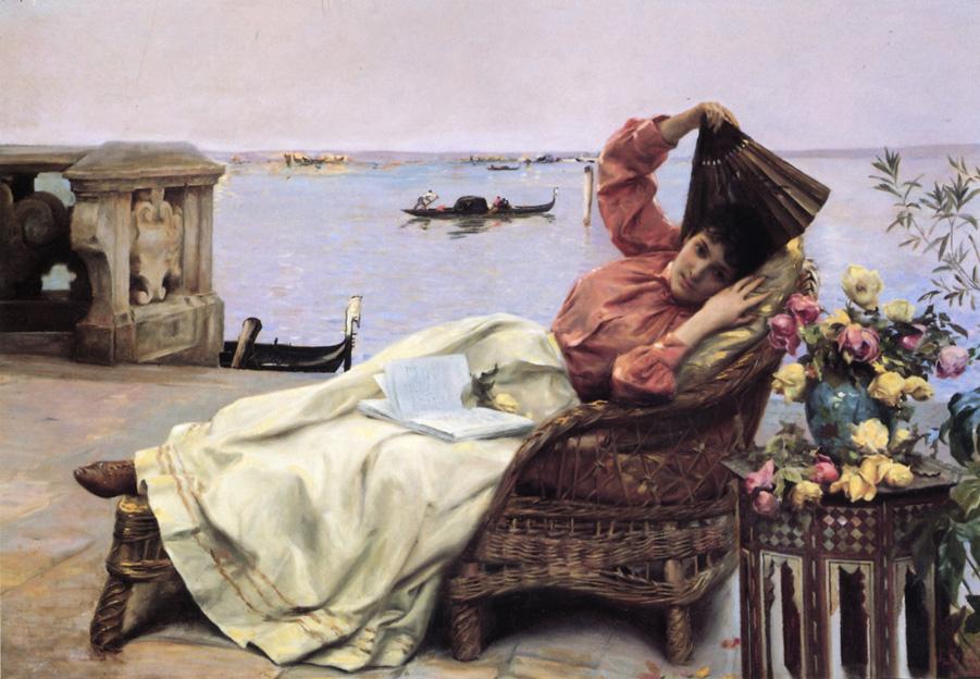 Julius LeBlanc Stewart - Venetian Veranda