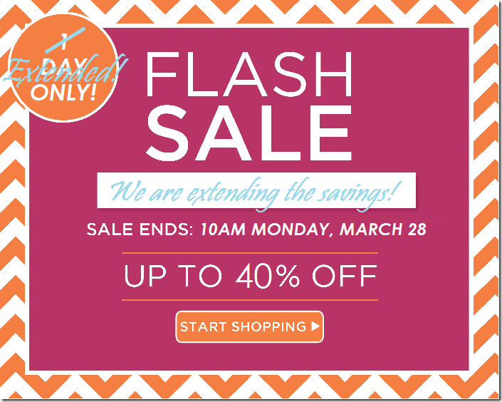 flash sale blog button extended