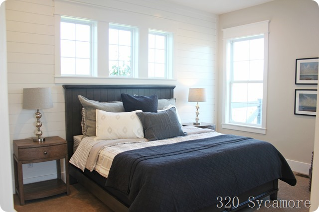 windows in master bedroom above bed