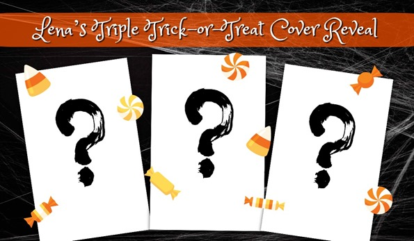 Trick-or-Treat Cover Reveal Banner - with candy