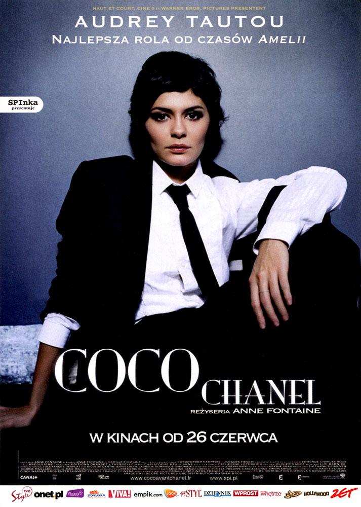 Ulotka filmu 'Coco Chanel (przód)'