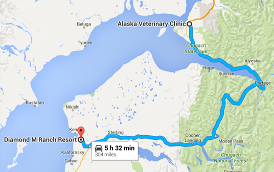 Soldotna to Anchorage and back