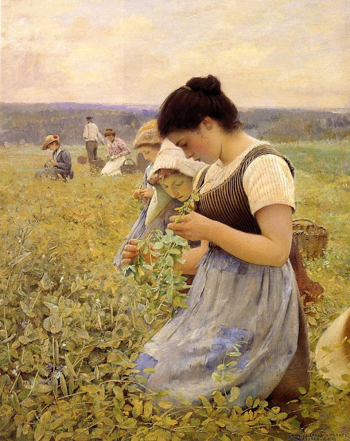 Charles Sprague Pearce – Women in the Fields