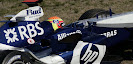 BMW Williams FW27 shake down
