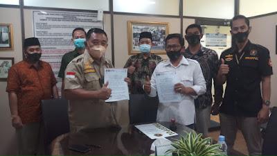 Serikat Nelayan NU Jabar Mou Dengan Inkoppol RI