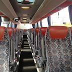 Het interieur van de Mercedes Tourismo van Van Fraassen Traveling bus 462