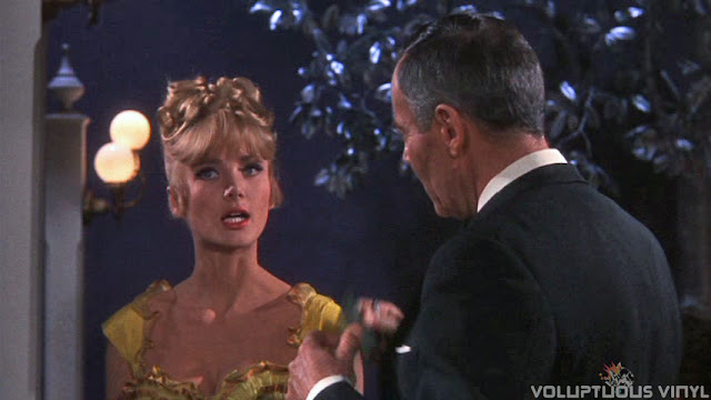 Barbara Bouchet and Henry Fonda