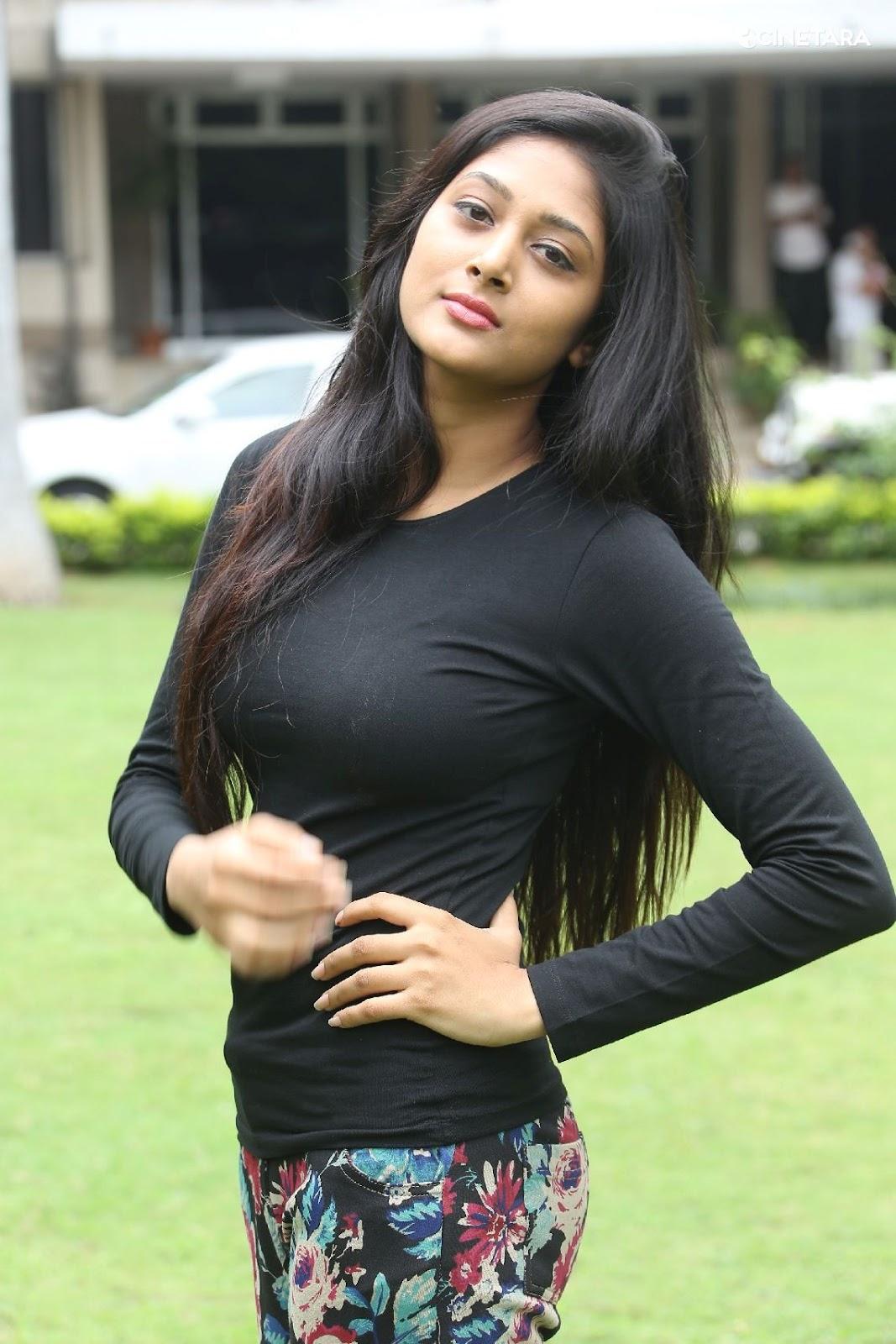 Sushma Raj Actress So Spicy Pics In Black Dress - Cinebulkblogspotcom-6318