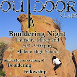 Meeting @ Abilene High School Bouldering Wall - March 2006