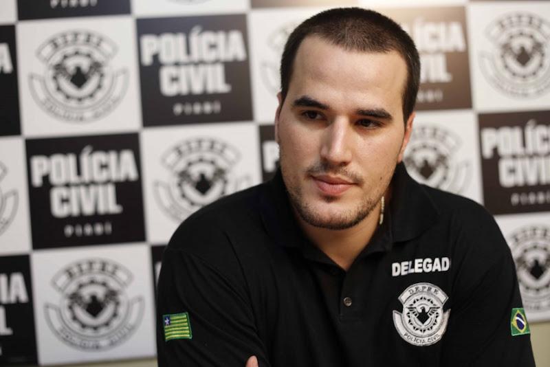 O delegado Matheus Zanatta, da Polícia Civil do Piauí, conduziu as investigações