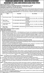 chandigarh administration recruitment of clerks and steno-typists