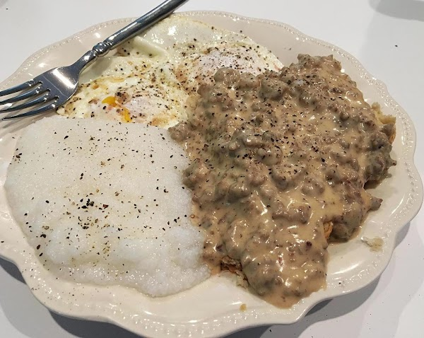 Serve this delicious gravy over your favorite biscuits. Yum!