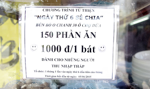 Voi thu nhap it oi bat bun bo nay khong phai nguoi lao dong ngheo nao cung dam bo tien ra an