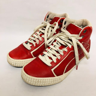 Alexander McQueen X Puma Red High Tops
