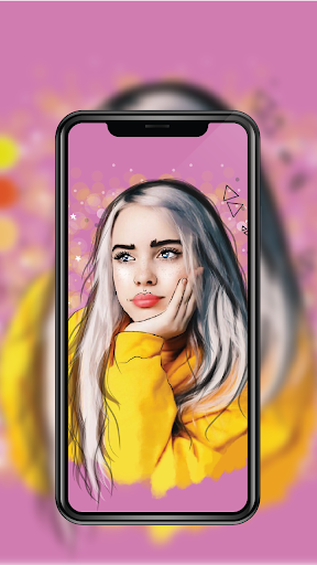 Screenshot for Billie Eilish Wallpaper 4K | Background HD in United States Play Store ...