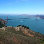 golden gate & San Francisco view in San Francisco, California, United States