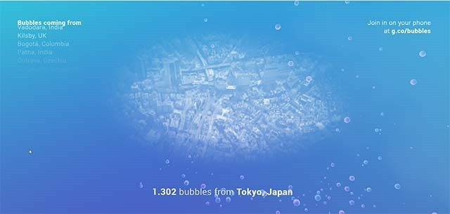 bubbles-with-google