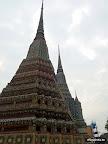 Bangkok - Tempeltürmchen