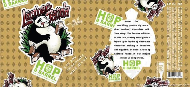 Hop & Barrel Brewing - Lactose Panda
