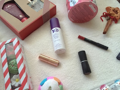 what beauty bits I got for Christmas