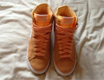 Sammi Jackson - Melon Nike Blazers