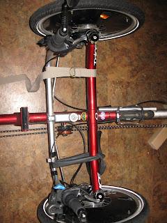 Installation d'une suspension avant sur un ICE Q Img_2688