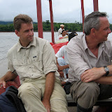 J. F. Christensen & Peter Møllmann. Rio Beni près de Rurrenabaque (Bolivie), 21 janvier 2004. Photo : H. Bloch