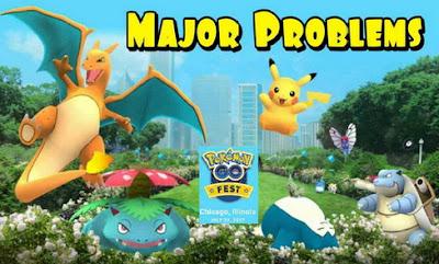 Namun kali ini lebih parah sebab terjadi selama pergelaran event Akbar Festival Pokemon  Festival Pokemon Go Berakhir dengan Bencana, Ini Penyebabnya!