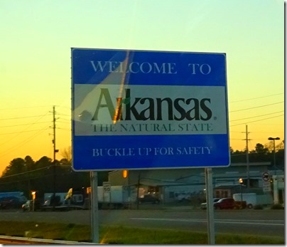 Arkansas sign