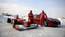Reveal Ferrari F2012 with Massa & Alonso Fiorano