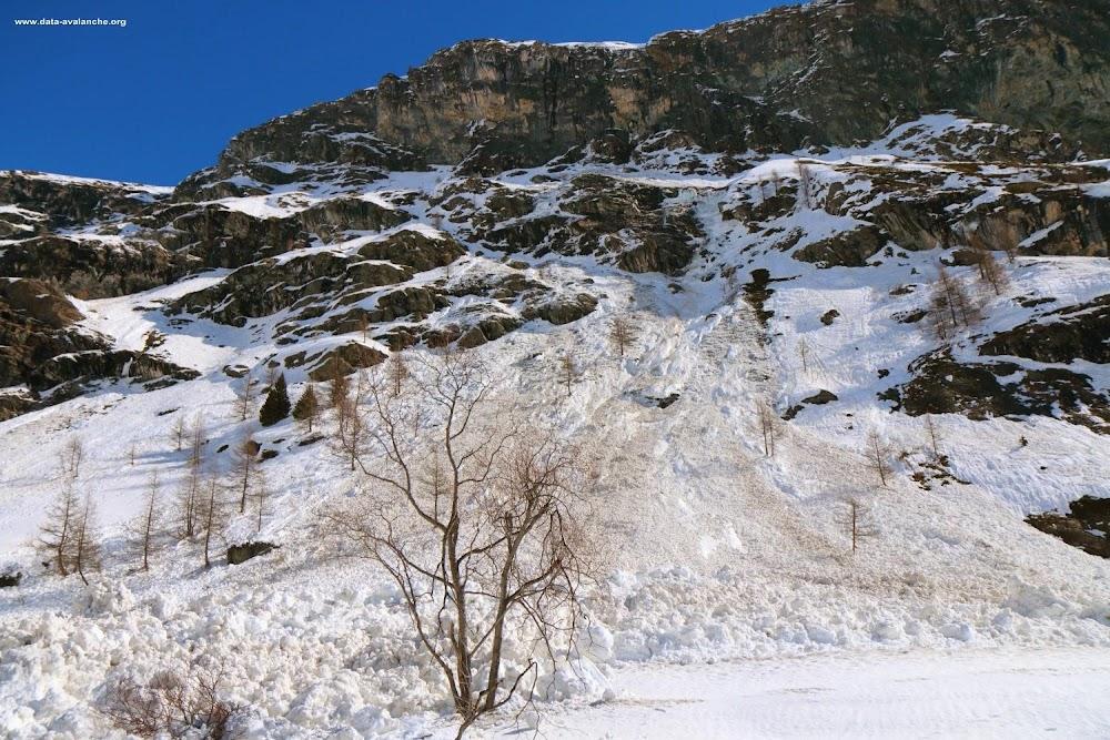 Avalanche Haute Maurienne, secteur Bessans, RD 902 - Balme Noire - Photo 1