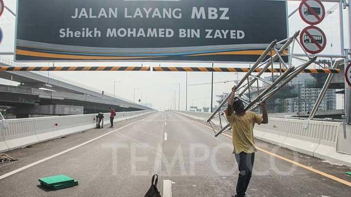 Roy Suryo Sebut Jalan Layang Syeikh MBZ Tol Kadrun, Cebong Dilarang Lewat