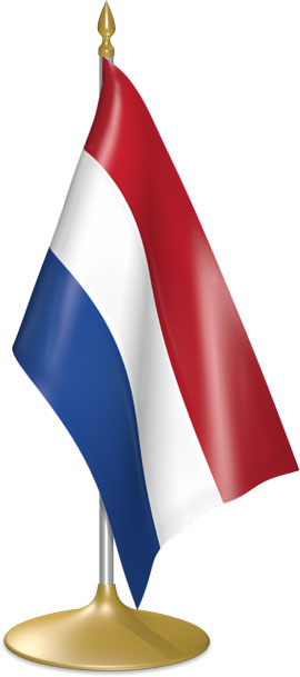 Dutch table flags - desk flags